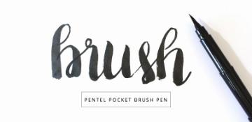 Picture of Pentel Pocket Brush Pen