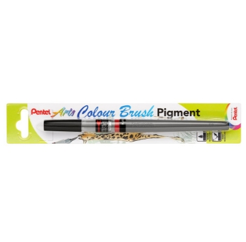 Picture of Pentel Arts Colour Brush Pigment - Black