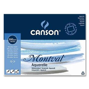 Picture of Canson Montval Aquarelle Pad CP A6 10.5x15.5cm