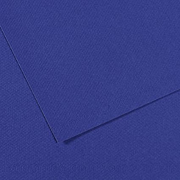 Picture of Canson MiTein 160g A4  Pack of 5 sheets Ultramarine 590