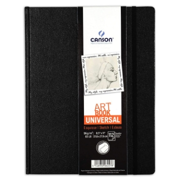 Picture of Canson Universal Art Book A5 96 gsm 21.6x27.9cm