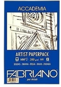 Picture of Fabriano Accademia Artist Paper 200Gsm A4 100shts