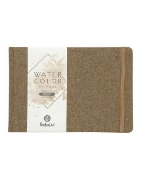 Picture of Scholar WaterColour Journal Book A5 200gsm-34 shts