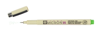 Picture of Sakura Pigma Micron Pen 05 Light Green