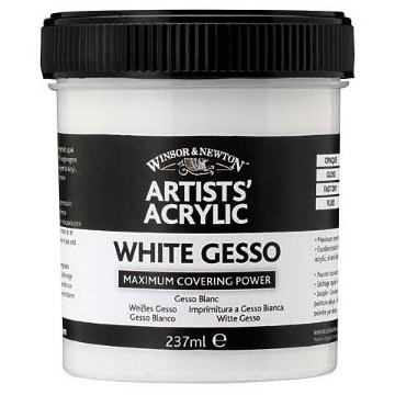Picture of Winsor & newton Acrylic  Gesso 225ml