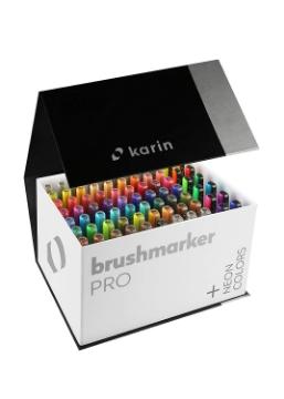 Picture of Karin Brushmarker PRO Mega Box Set of 72 Colours