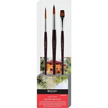 Picture of Escoda Milind Mulick Brush Set Series 8619-1