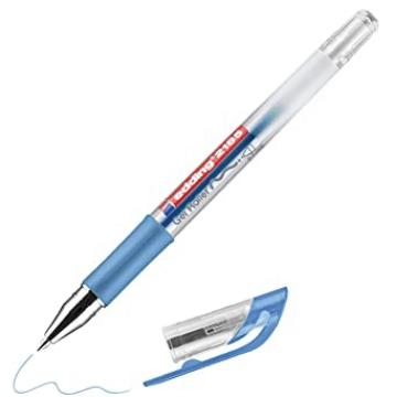 Picture of Edding 2185 Gell Roller Pen 0.7mm-Metallic Blue