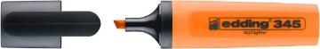 Picture of Edding 345 Highlighter Text Marker-Neon Orange