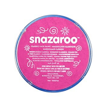 Picture of Snazaroo Classic Face Paint Bright Pink 18Ml