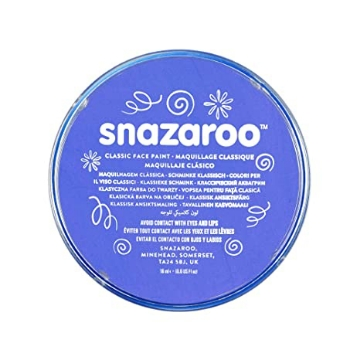 Picture of Snazaroo Classic Face Paint Sky Blue 18Ml