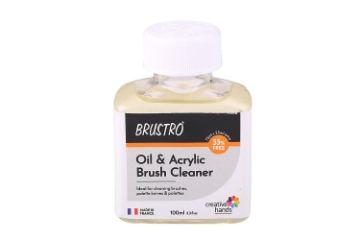 Picture of Brustro Oil  Acrylic Brush Cleaner 100ML