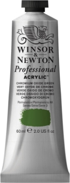 Picture of Winsor & Newton Professional Acry Col Chromium Oxide Green S:3