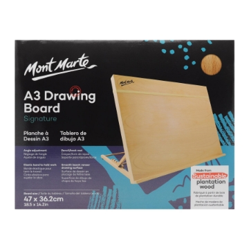 Picture of Mont Marte Drawing Board A3 With Elastic Band