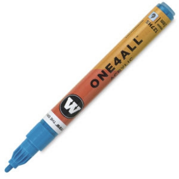 Picture of Molotow One 4 All Acrylic Marker 2mm  -  Shock Blue