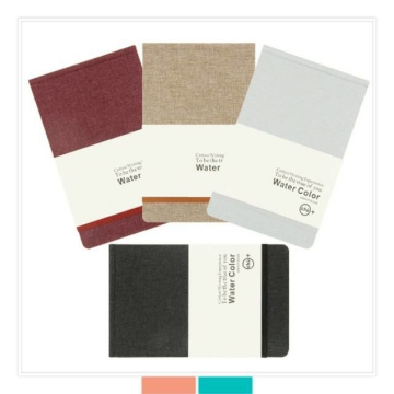 Picture of Our Story Begins Water Colour Sketchbook A5 200Gsm - 100% Cotton
