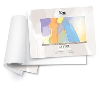 Picture of Fabriano Pastello Paper Pad A3 White 160gsmx 24Sht