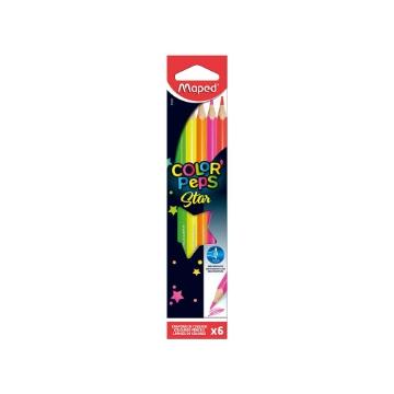 Picture of Maped Color'Peps Fluorescent Colour Pencils Set of 6