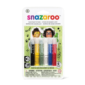 Picture of Snazaroo Face Paint Sticks Set Of 6 -1160602