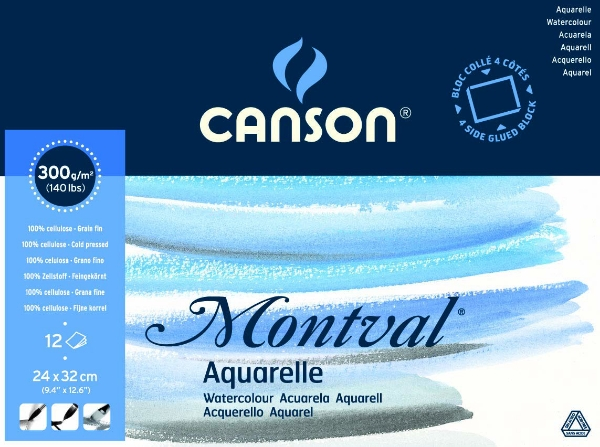 Picture for category Canson Montval Cold press Roll