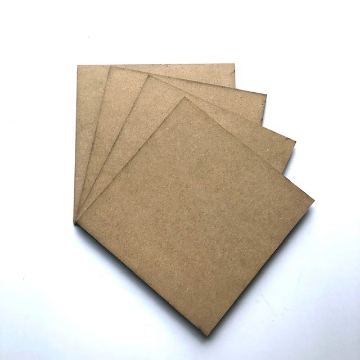 """Picture of MDF Coasters Square 6x6"""" Set of 4"""