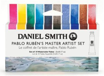 Picture of Daniel Smith Pablo Ruben Master Artist Set 10X5Ml