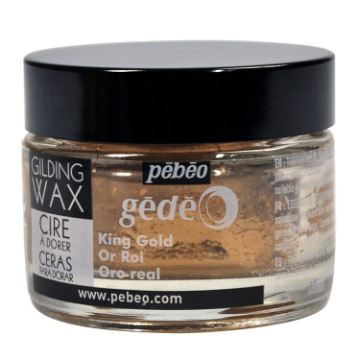 Picture of Pebeo Gilding Wax 30ml King Gold