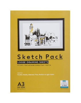 Picture of Scholar A3 130Gsm Drawing Sheets Pack Of 50