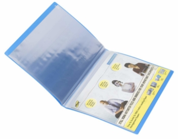 Picture of Trio Clear Book - 40 Pockets A4-604A