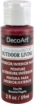 Picture of DecoArt Americana Decor Outdoor Living 59ml - Fire Pit