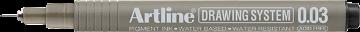 Picture of Artline Drawing System Pen Black 0.03mm