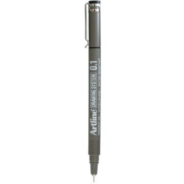 Picture of Artline Drawing System Pen Black 0.1mm