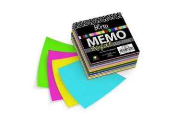 Picture of Arto Campap Memo Refill Elle Erre 90X90Mm 220Gsm Set Of 4