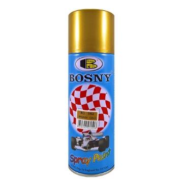 Picture of Bosny Spray Paint No.352 Bronze Gold