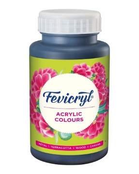 Picture of Fevicryl Acrylic Col Shades 500Ml Black