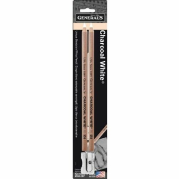Picture of General Charcoal White Set Of 2 Sharpener