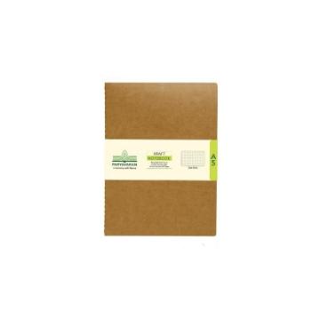 Picture of Scholar A5 Kraft Dot Notebook 80Pgs