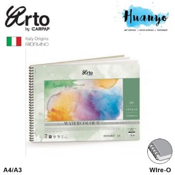 Picture of Arto Campap Water Colour A4 300Gsm 12Sheets-37029