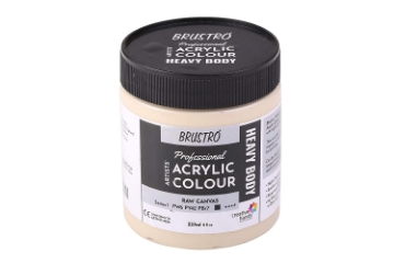 Picture of Brustro Heavy Body Acrylic Burnt Umber 237ML-Sr1