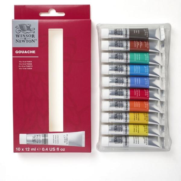 Picture of Winsor & Newton's Gouache Colour Set 10x12ml